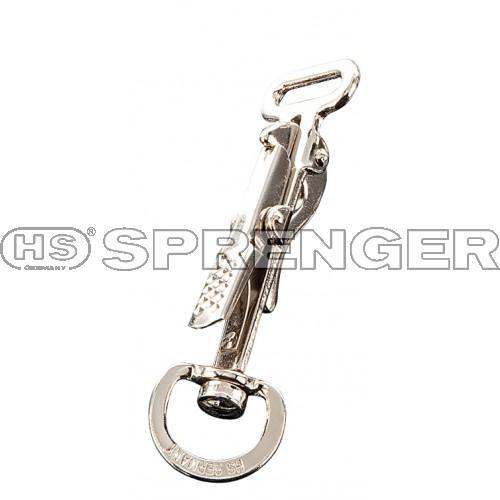 Fettleder24 - Jagdhaken mit Wirbel - HS Sprenger